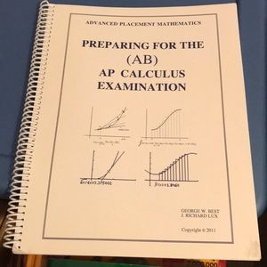 AP Calculus AB exam prep book